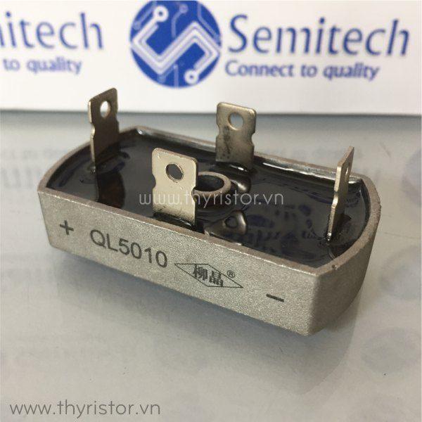 Cầu chỉnh lưu 1 pha QL5010