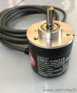 Encoder E6B2-CWZ1X Omron (1) cảm biến vị trí thiết bị mã hoá vòng quay