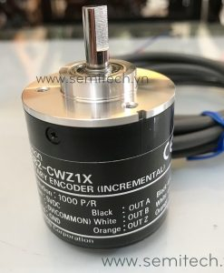 Encoder E6B2-CWZ1X Omron (2) cảm biến vị trí thiết bị mã hoá vòng quay