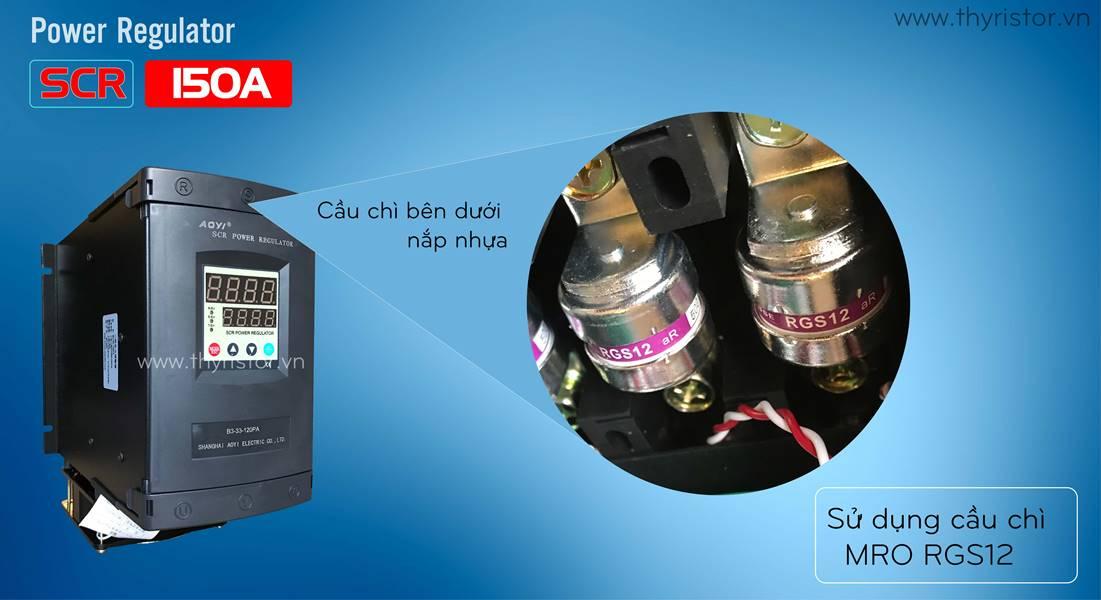 bộ điều khiển công suất 3 pha 150a