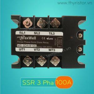SSR 3 Pha 100A