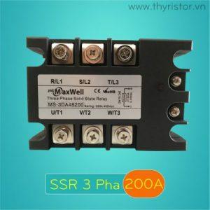 SSR 3 Pha 200A