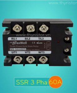 SSR 3 Pha 60A