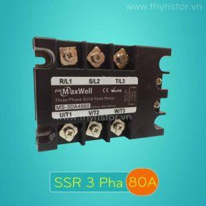 SSR 3 Pha 80A