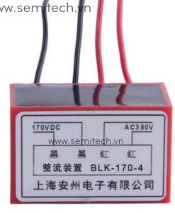 BLK-170-4 Phanh chinh luu dong co, diot thang 220Vac 99vdc 1