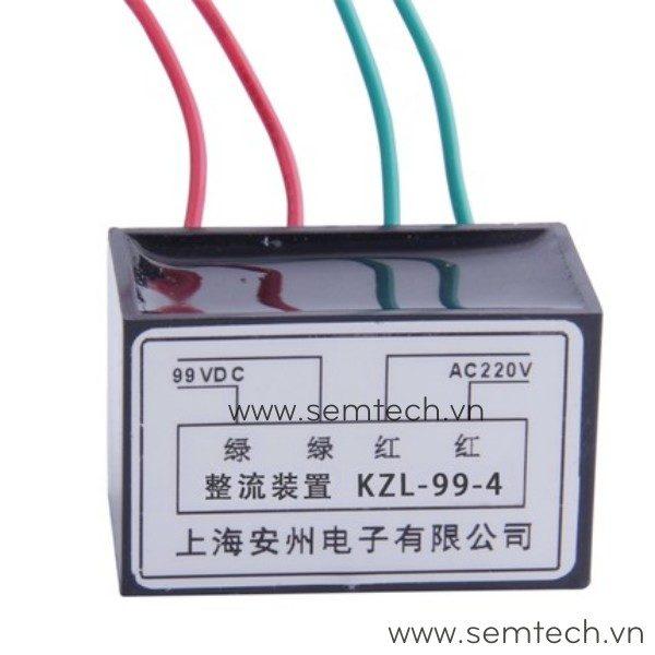 KZL-99-4 Phanh chinh luu dong co, diot thang 220Vac 99vdc 1