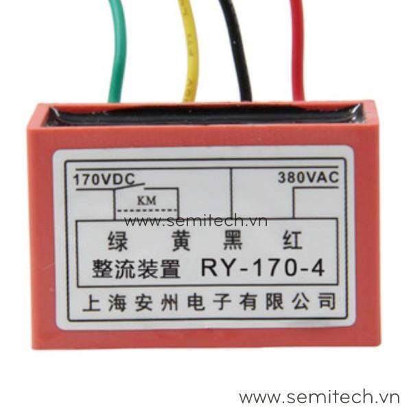 RY-170-4 chỉnh lưu phanh động cơ, đi ốt chỉnh lưu thắng động cơ 1