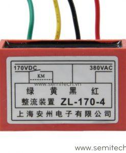 ZL-170-4 Phanh chinh luu dong co, diot thang 220Vac 99vdc 1