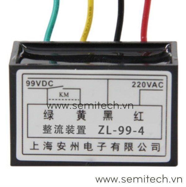ZL-99-4 Phanh chinh luu dong co, diot thang 220Vac 99vdc 1