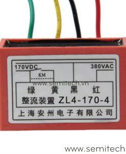 ZL4-170-4 Phanh chinh luu dong co, diot thang 220Vac 99vdc 1